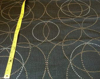 MAHARAM Periphery Onyx Upholstery Fabric - By The Yard