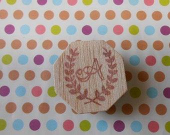 A stamp initials