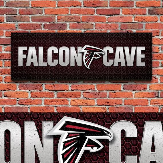 Atlanta Falcons Man Cave Signs : Atlanta falcons cave nfl mancave by campfirecreationsoh