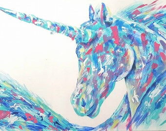 Unicorn Painting (Personalized)