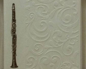 Clarinet Note Cards