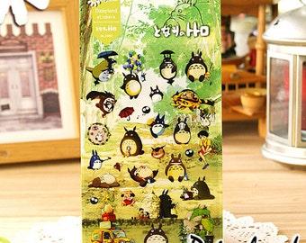 Set of Kawaii My Neighbour Totoro Stickers