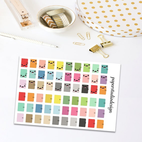 Daily Planner Stickers - Agenda Stickers