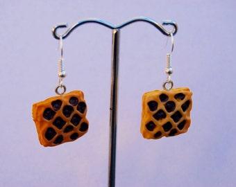 Pastry earrings cute