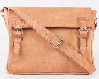 Genuine leather Briefcase bag shoulder bag