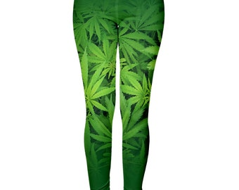 Green World Leggings