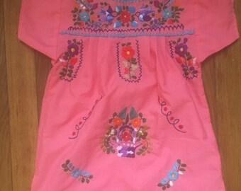 MEXICAN GIRL DRESS