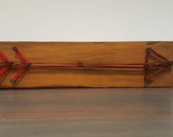Rustic Arrow Decor