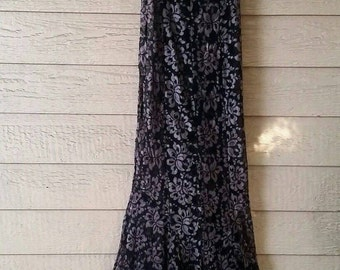 Vintage Sheer Lace Gown by Trashy Lingerie