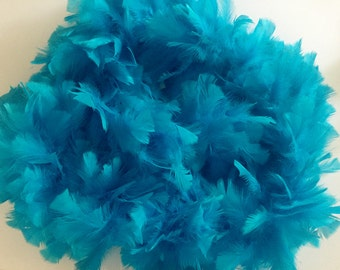 200g Flat Fluffy Turkey Ruff Feather Boas