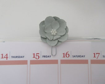 Faded Blue Planner Clip