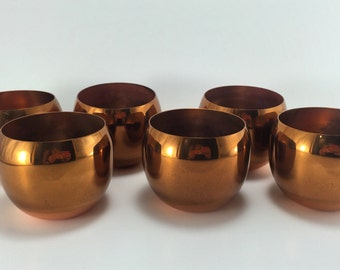 Copper Craft Guild Roly Poly Cups
