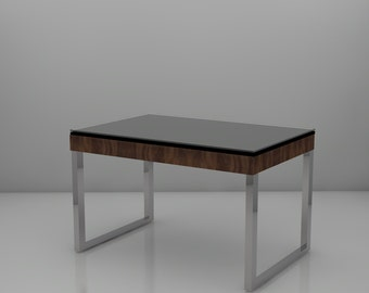 Glass & Granite Coffee Table