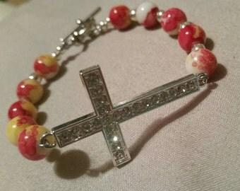 Beautiful cross bracelet!