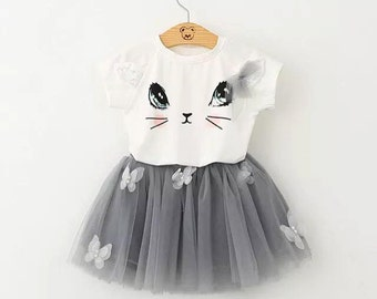 Little Kitty Tutu Outfit
