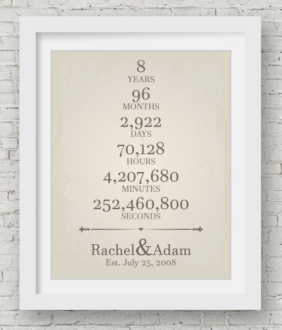 Gift Ideas For 8th Wedding Anniversary: 8th Wedding Anniversary Bridal Shower Welcome Sign Anniversary