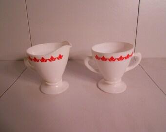 Vintage Creamer & Sugar Cups