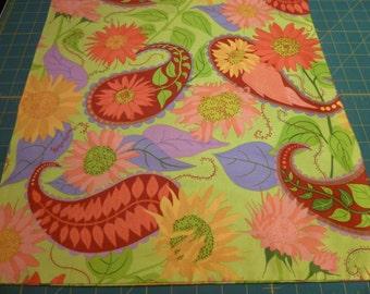 pillow sham paisley print