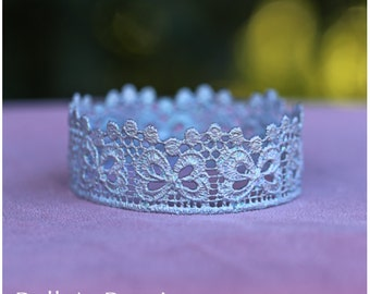 Silver Newborn Crown