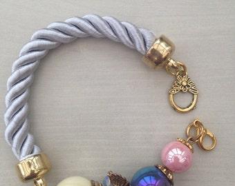 Handmade bracelet with beads
