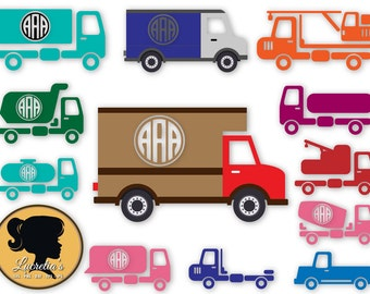 """Shop """"truck svg"""" in Drawing, Painting & Writing Supplies"""