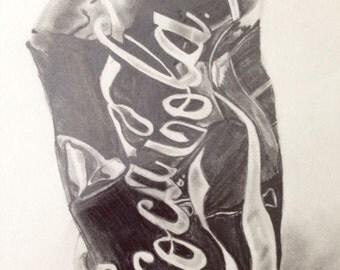 Crumpled Coke