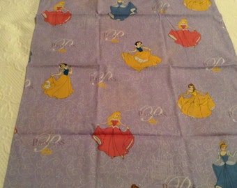 Handmade princess pillowcase