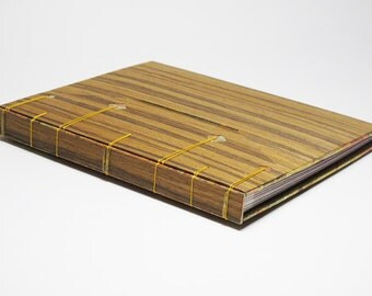 "Book with gold/photo Album with ""Wood"" [to order]"