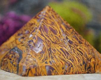 Calligraphy Stone Crystal Pyramid - 969.12
