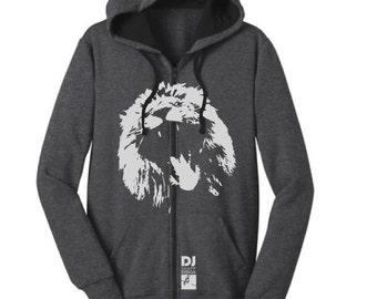 LION - Glow in the Dark - Full Zip Hoody
