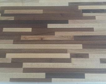 Hard Maple & Black Walnut Cutting Board
