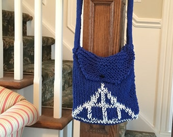 Harry Potter Deathly Hallows Knit Bag