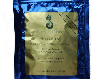 Henna Powder - 100g - Neeta Blend - Limited Edition