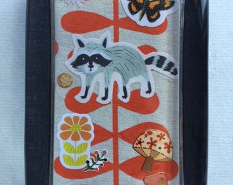 Raccoon Collage Paperweight