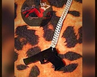 Little Gun Necklace