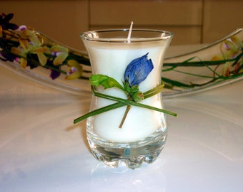 White Orchid Organic Candle