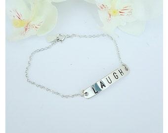 Laugh bracelet