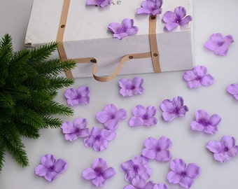 50 Pieces cherry blossom Petals for wedding or crafting supply