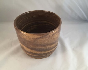 Stoneware Crock - Agateware