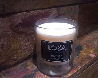 Mimosa & Manderin Soy Wax Candle