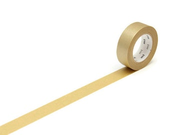 MT Gold Masking Tape, Washi Tape, Gift Wrapping, Bullet Journal, Planner Accessories. Craft Supplies, Scrapbooking Embellishments