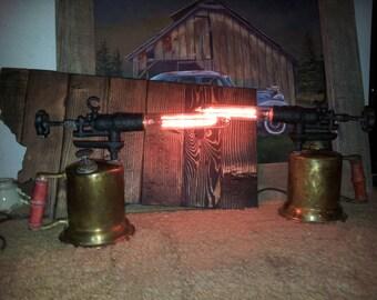 Vintage Blow Torch Lamps