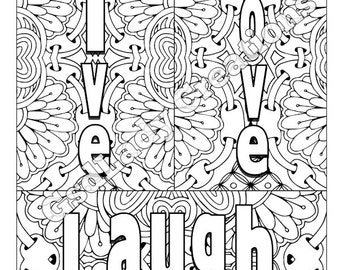 Love Is Kind Coloring Sheet Coloring