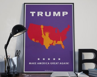 Pop Art America - Art for Trump