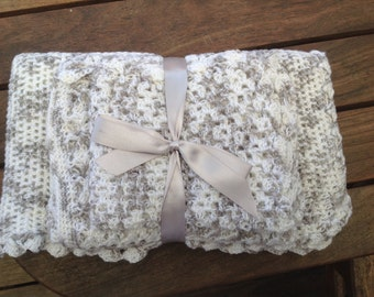 Crochet Baby blanket Set of 3