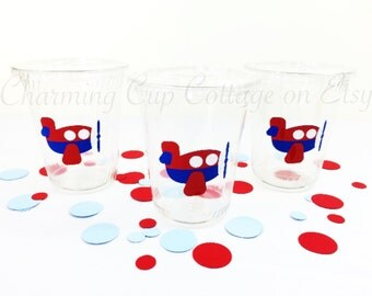 Airplane Theme/Airplane Party/Airplane Party Cups/Theme Party/Airplane Birthday Party/Party Cups/Aviator Party/Airplane Baby Shower
