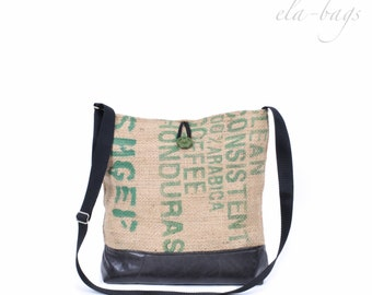 Coffee sack bag boho hippie 2