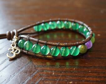Bracelet (Agate, Amethyst, Jade)