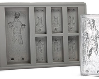 Han Solo In Carbonite Mold STAR WARS Ice Tray Jelly Fondant Chocolate mold