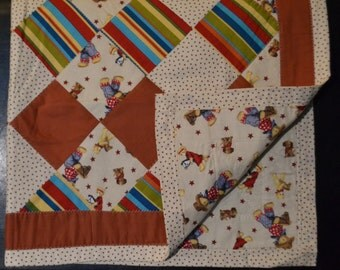 Teddy Bears and Indians Quilt